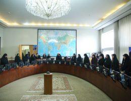 نمایندگان زن شهرستانی که برای اولین بار به مجلس رفتند